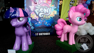 My Little Pony The Movie Premiere - Twilight and Pinkie Figures