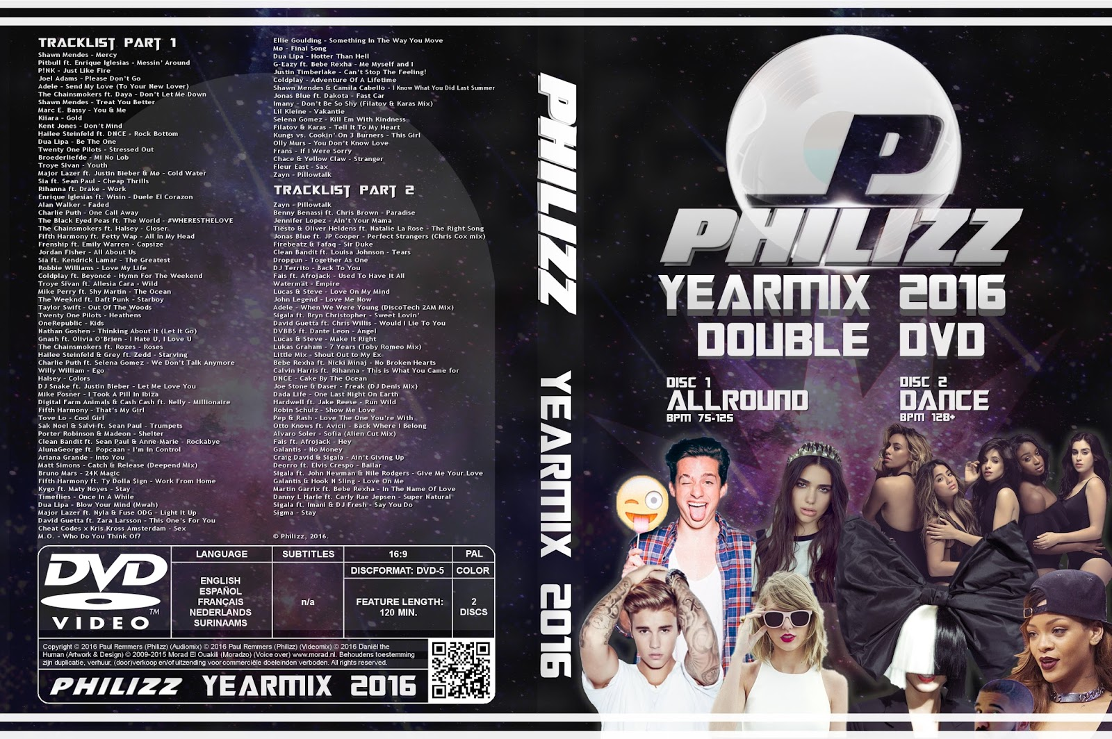 Philizz Video Yearmix 2016 (PART 1 + PART 2)
