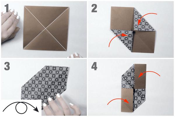 Cách gấp chong chóng tuổi thơ Origami đơn giản
