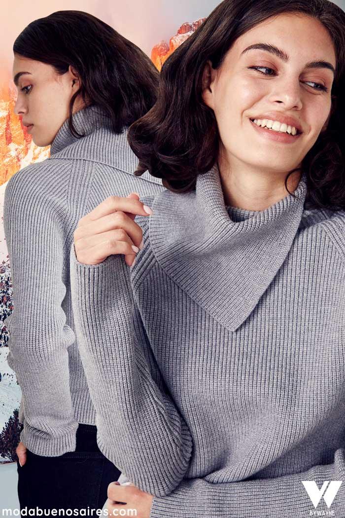 sweaters tejidos invierno 2021 moda mujer