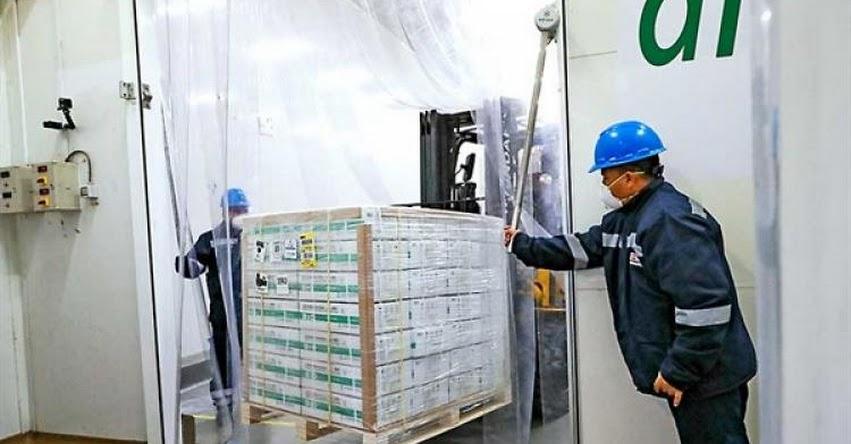 CORONAVIRUS: Hoy empieza distribución de 700 mil vacunas del laboratorio Sinopharm