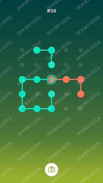 ◉ Connection Level 58 Solution, Cheats, Walkthrough