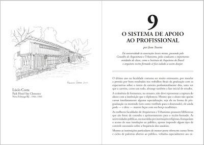 """Visualização de cortesia de parte do livro """"ARQUITETO 1.0 - Um manual para o profissional recém-formado""""."""