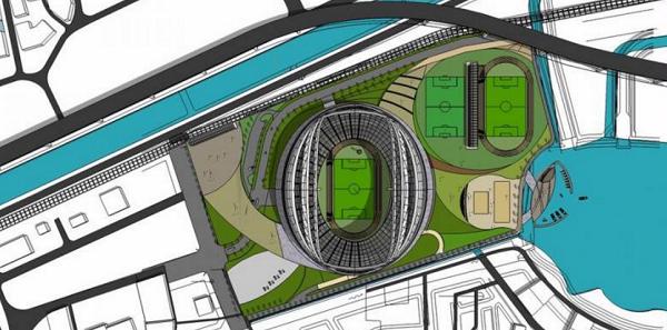 Terbaru Nih, Stadion BMW Markas Persija akan Mulai Dibangun pada 2018, Asalkan...