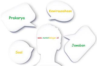 #45 Soal + Jawaban Materi Prakarya dan Kewirausahaan