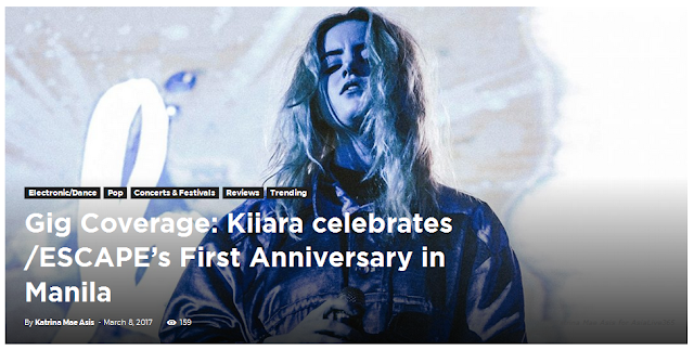 Gig Coverage: Kiiara celebrates /ESCAPE's First Anniversary in Manila