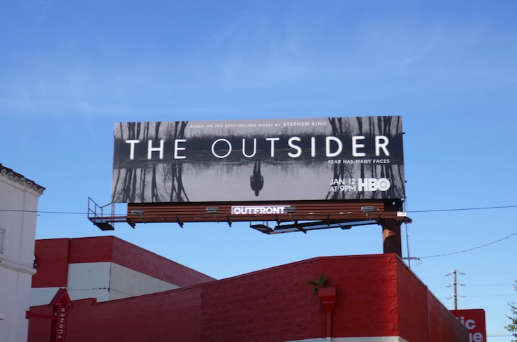 Outsider series launch billboard