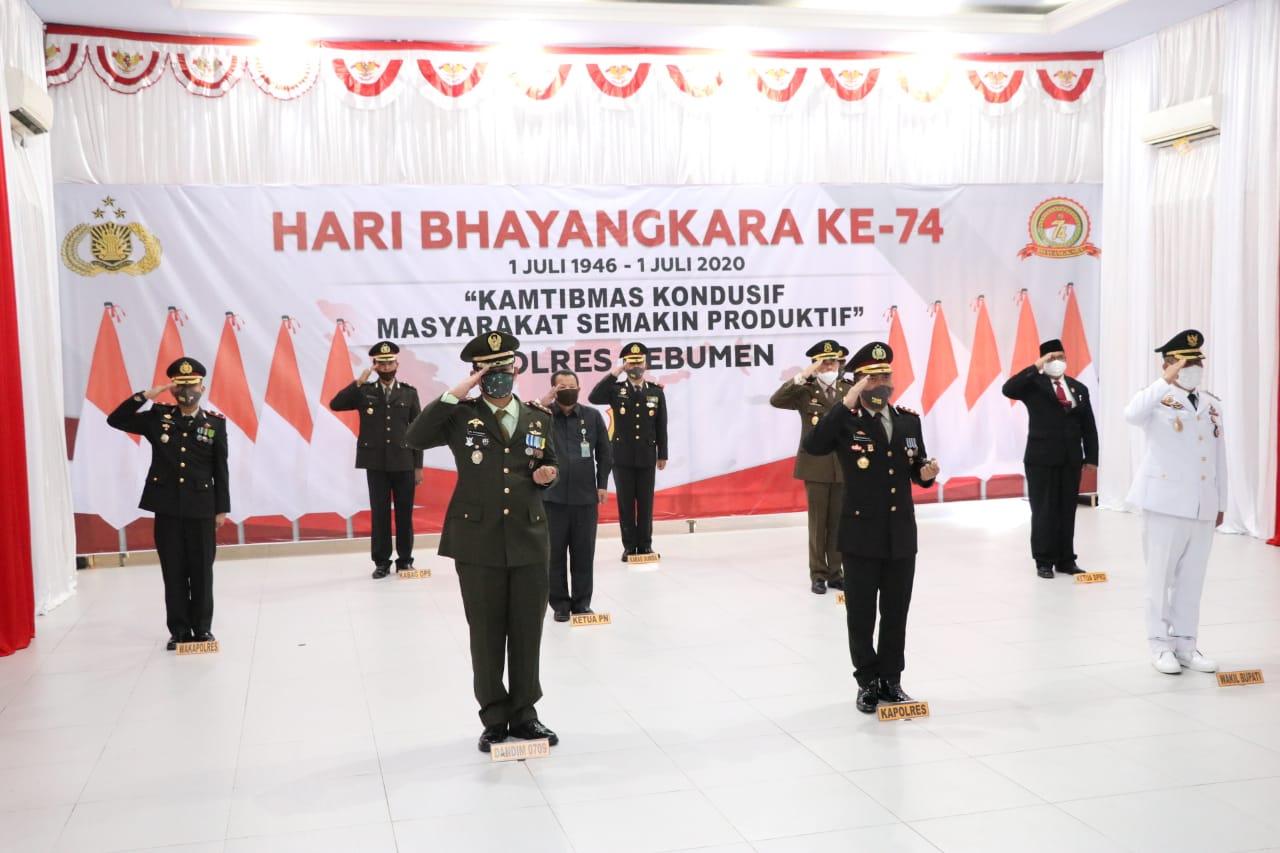 Hari Bhayangkara, 48 Personel Polres Kebumen Naik Pangkat