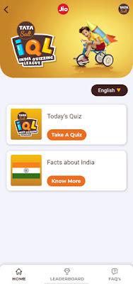Jio Tata salt Quiz All Answer English/HIndi offer Get 1GB free Data
