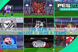 Mod Serie A Teams Tifo Season 2020/21 - PES 2017