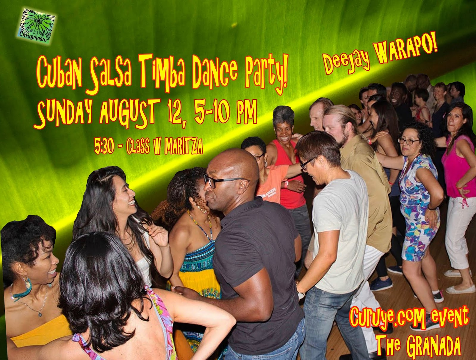 This year part of the proceeds from Curuye s August Salsa Timba Cuban Dance  Party ... 24e76a22bc3