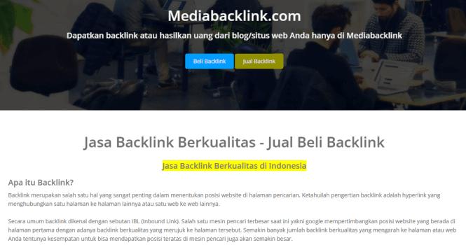 Review Mediabacklink