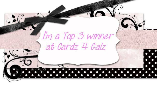 Top 3 at Cardz 4 Galz Challenge