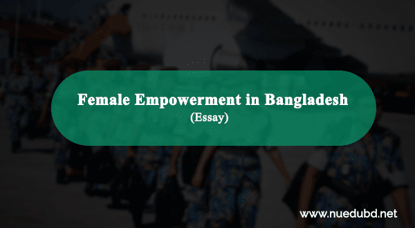Female Empowerment in Bangladesh essay for honours exam