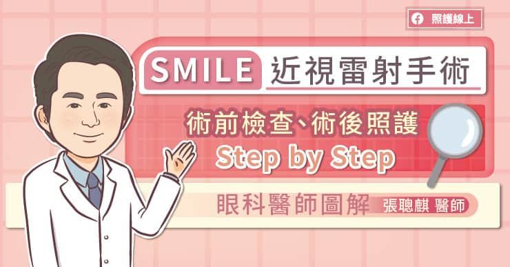 SMILE近視雷射手術,術前檢查、術後照顧Step by Step,眼科醫師圖解
