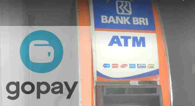 Cara Mengisi Saldo GOPAY via ATM BRI Serta Biaya Admin transaksinya