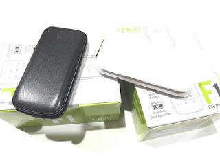 Handphone Lipat Nuu Mobile F1 New Dual SIM Slot MicroSD Flip Phone