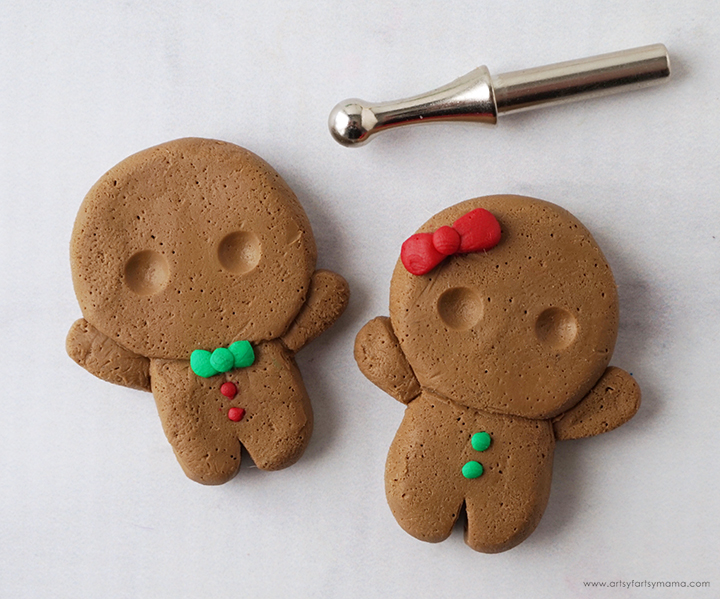 Clay Gingerbread Man Charm