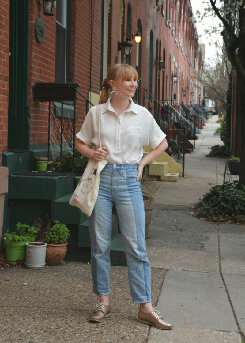 A Simple Spring Outfit | Organized Mess