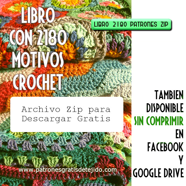 Descarga Libro de 2180 Motivos Crochet gratis