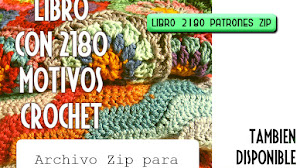 2180 Patrones Gratis de Crochet Descarga el Archivo ZIP