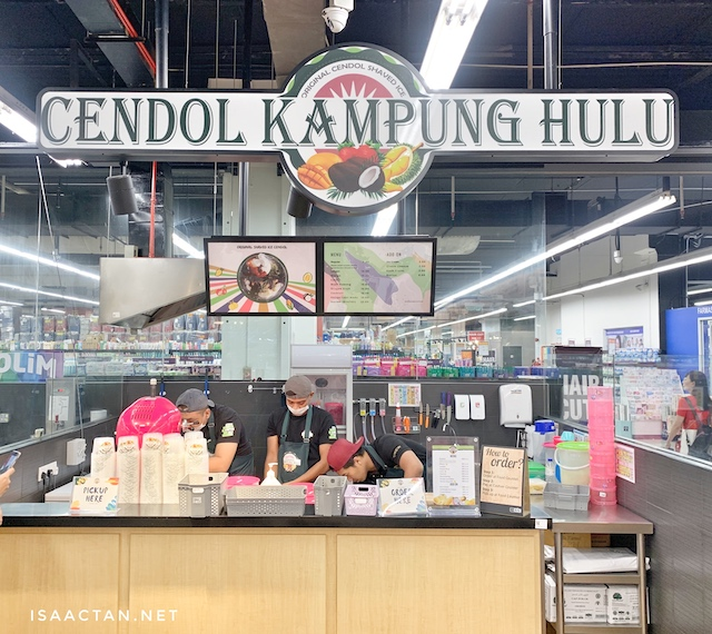 Cendol Kampung Hulu, the original shaved ice cendol