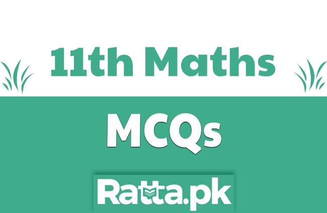 1st Year Maths Solved MCQs pdf Download