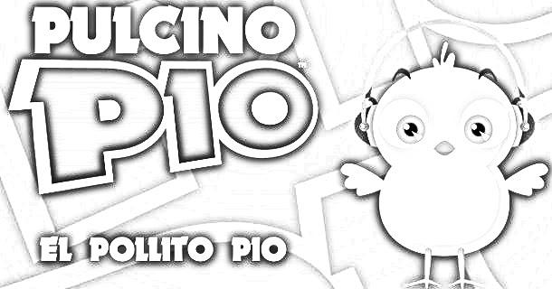 Pinto Dibujos: Videos Del Pollito Pio Para Colorear