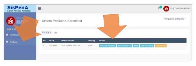 Aplikasi SisPenA Sistem Penilaian Akreditasi Sekolah Dari BAN S/M