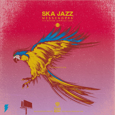 The album cover features an illustration of a parrot in flight.