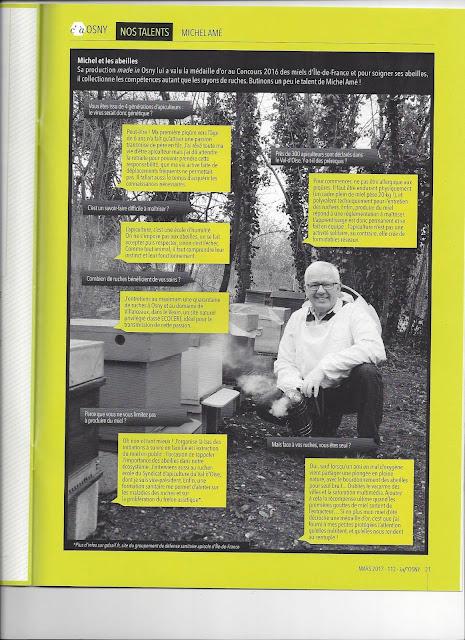 apiculteur osny