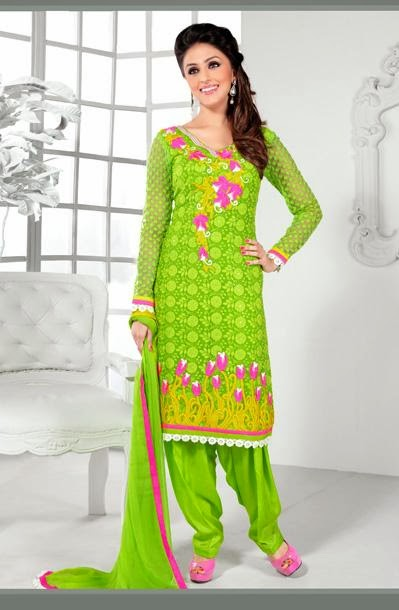 Punjab Trip: Designer Punjabi Suits Design 2014