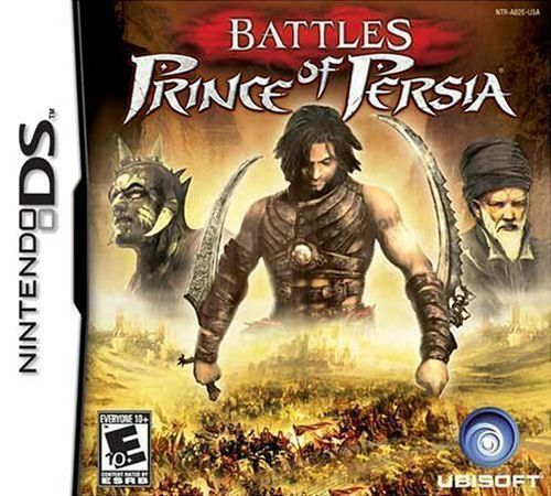 ROMs - Battles of Prince of Persia  - NDS Download