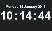 Tạo đồng hồ và lịch cho blogspot/website gọn nhẹ đẹp