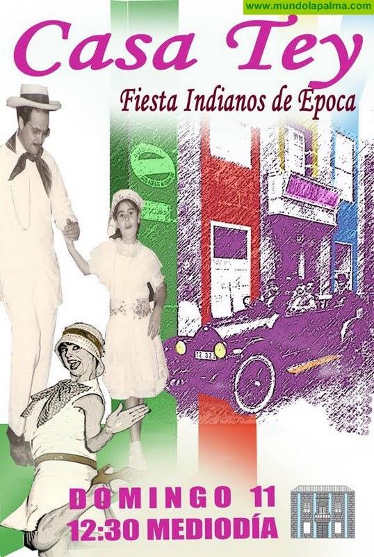Fiesta Indianos de Época 2018, Casa Tey