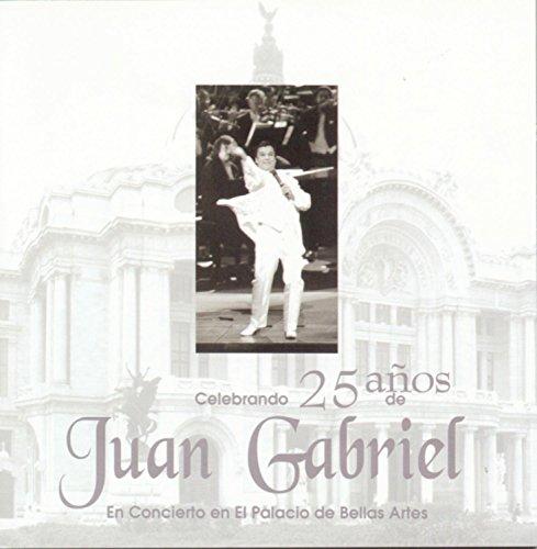 Juan Gabriel En El Palacio De Bellas Artes 25 Aniversario