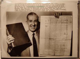 Original Declaration of Independence found in Philadelphia