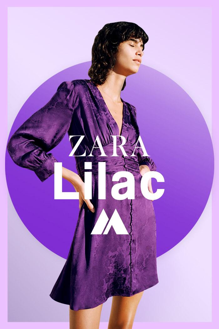 Zara otoño invierno 2021 Edicion limitada Lilac