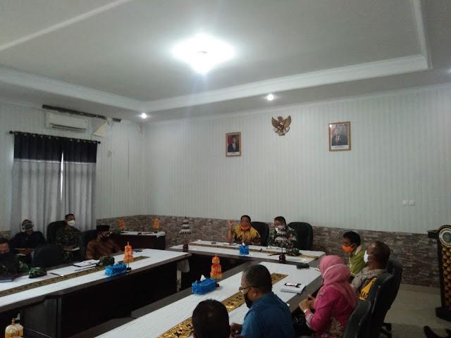 Rapat Teknis Strategi Antisipasi Penyebaran Covid 19 Melalui Nelayan Andon (Nelayan Kecil Dari Luar Daerah) ke Wilayah Maluku Tenggara dan Kota Tual