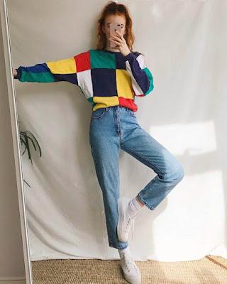 outfit vintage juvenil