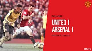 10 Fakta Menarik Usai Manchester United Ditahan Arsenal