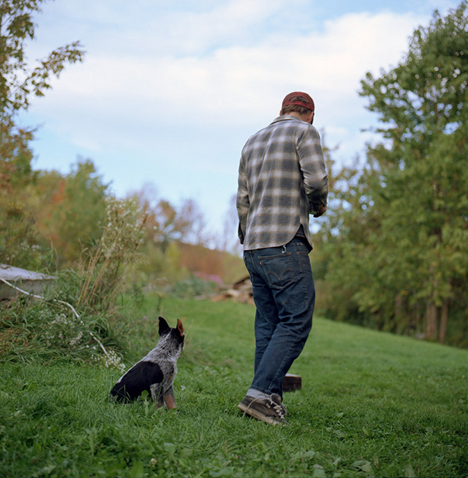 Mike and his Dog, from Grassdoe - Jonathan Levitt.