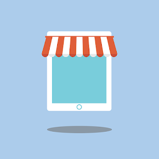 gambar tampilan contoh toko online blogspot