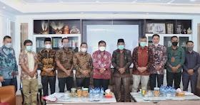 Bupati Tanjab Barat Dan DPRD Temui Ditjen Bina Adwil, Bahas Maslah Batas Wilayah