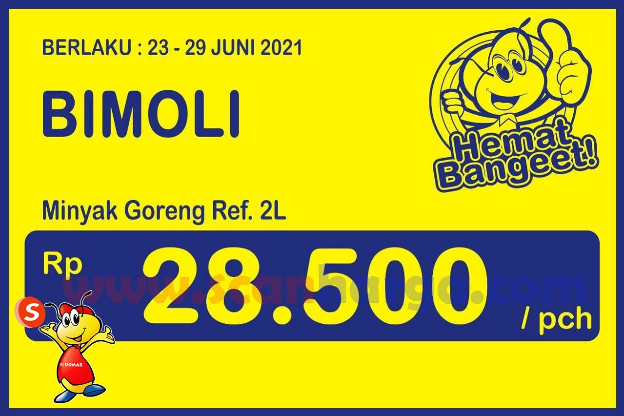 Promo Indomaret Heboh 23 - 29 Juni 2021 Harga Minyak Goreng Murah