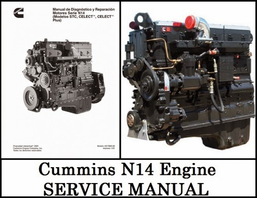 Find The Service Manual For Your Car Now!: Cummins N14 ...