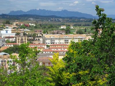 Montserrat desde Sant Marti Sarroca