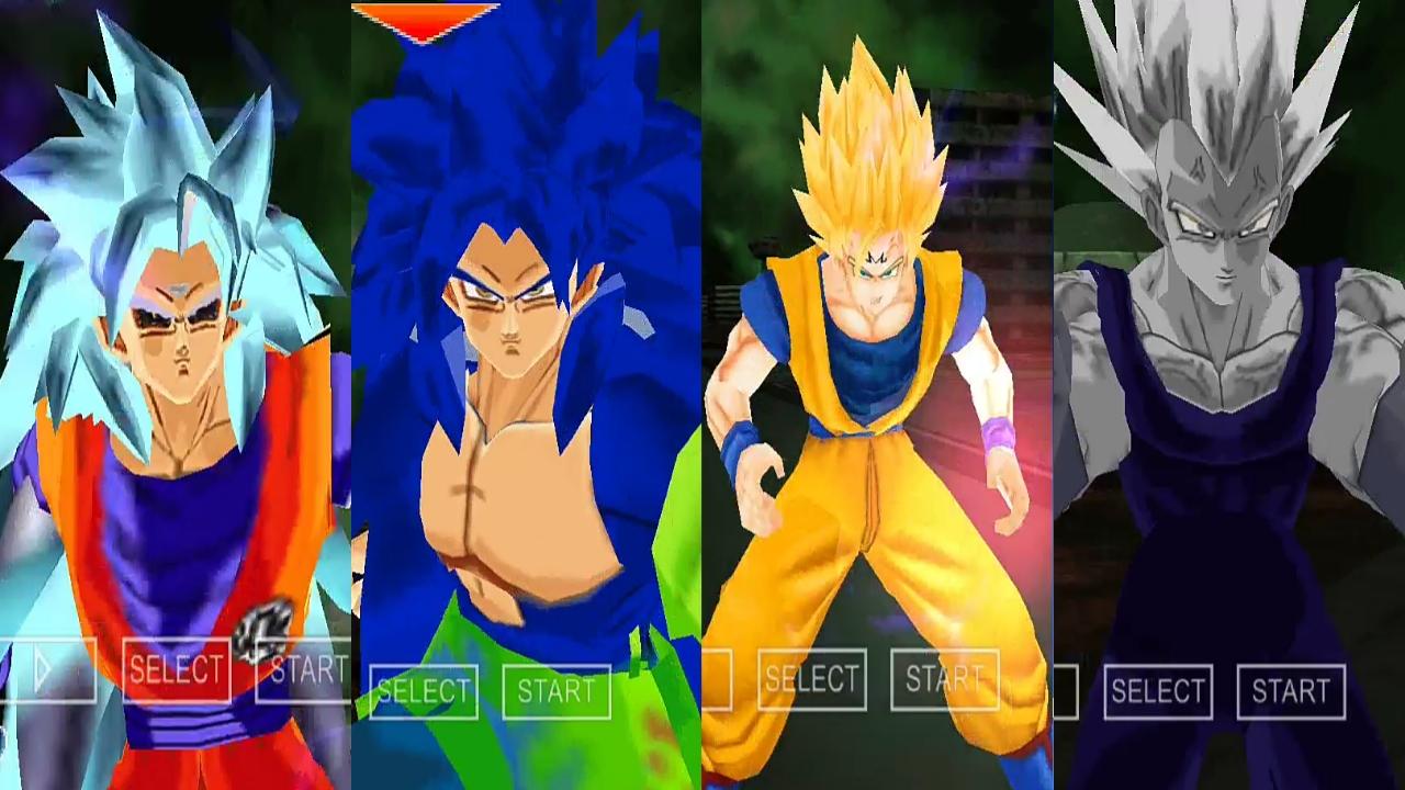 Evil Goku Super Saiyan 8 DBZ TTT MOD