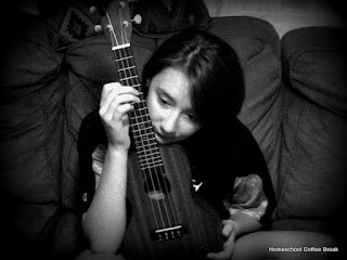 Ukuleles (Blogging Through the Alphabet) on Homeschool Coffee Break @ kympossibleblog.blogspot.com