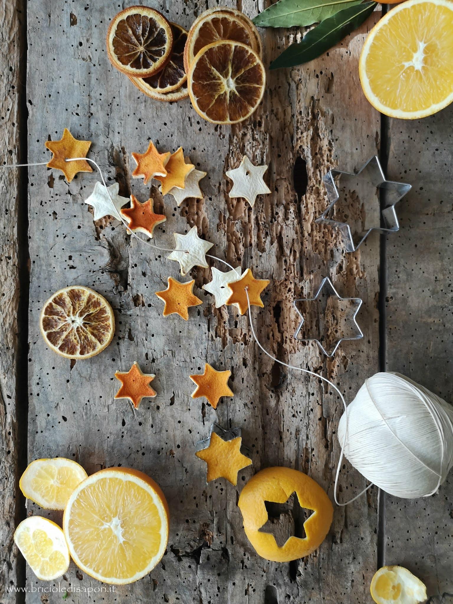come fare le fette di arancia essiccata